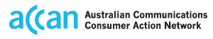 Australian Consumer Communications Action Network (ACCAN)