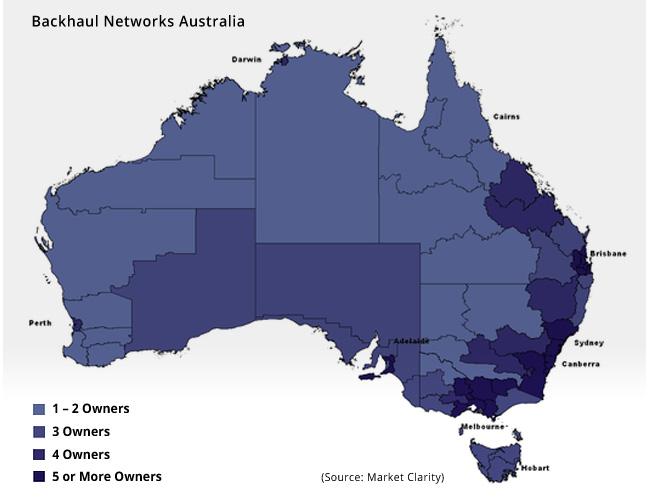 Australian Telecoms Infrastructure Business Intelligence