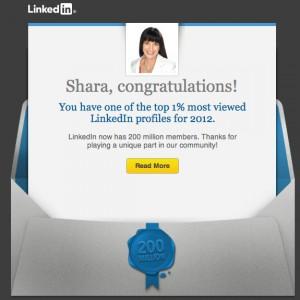 Shara LinkedIn