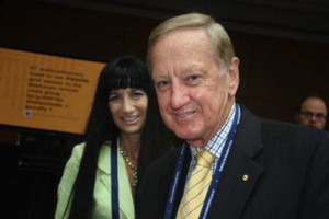 Shara with Doug Campbell former NBN Co BOD Member