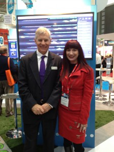 Shara with Dr Terry Percival NICTA