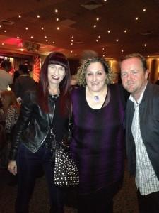 Shara with Teresa Corbin + Matt Healy Macquarie