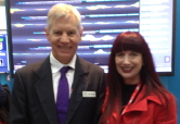 Shara with Dr Terry Percival NICTA thumbnail