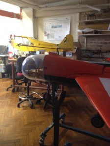 Fixed wing robotic aircraft at ACFR, Photo: Market Clarity