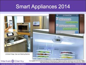Smart Appliances 2014