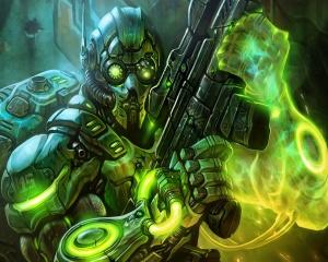 Starcraft-2 Ghost Cyborg by Разраб Starcraft