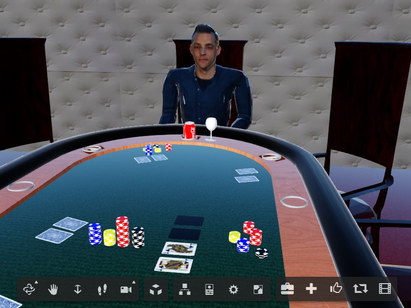 A 3D scan with Dotty can create a virtual poker game — or greatly improve collaboration on a complex engineering problem