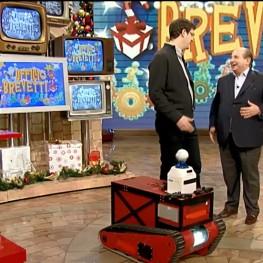 ROVINA Robot on Italian National TV